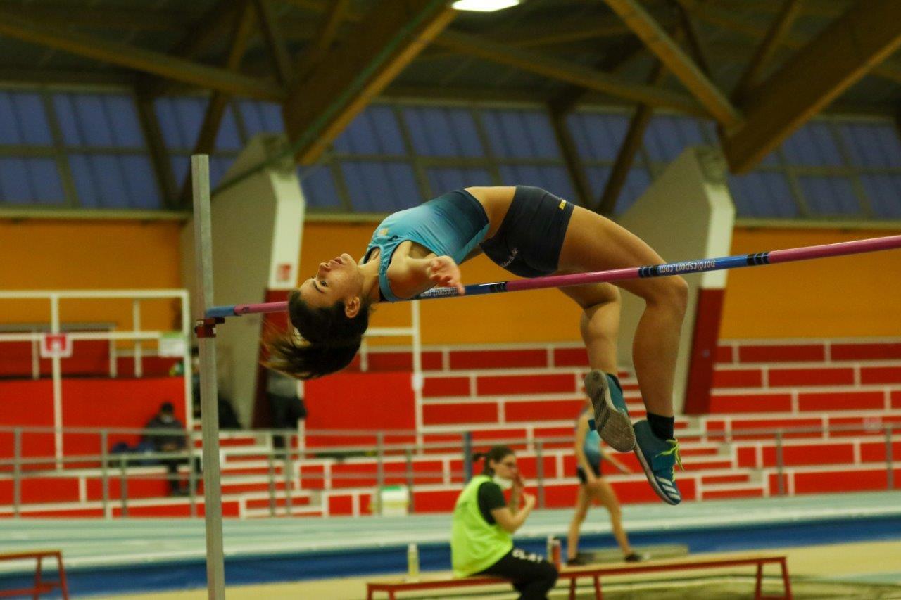 Rebecca Mihalescul salto in alto a Padova