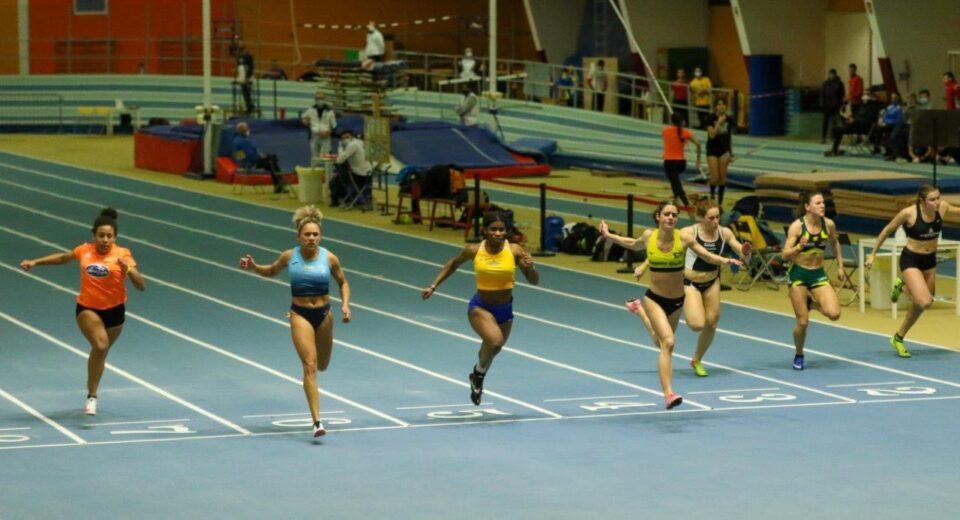 Pala Indoor Padova arrivo 60 mt femminili
