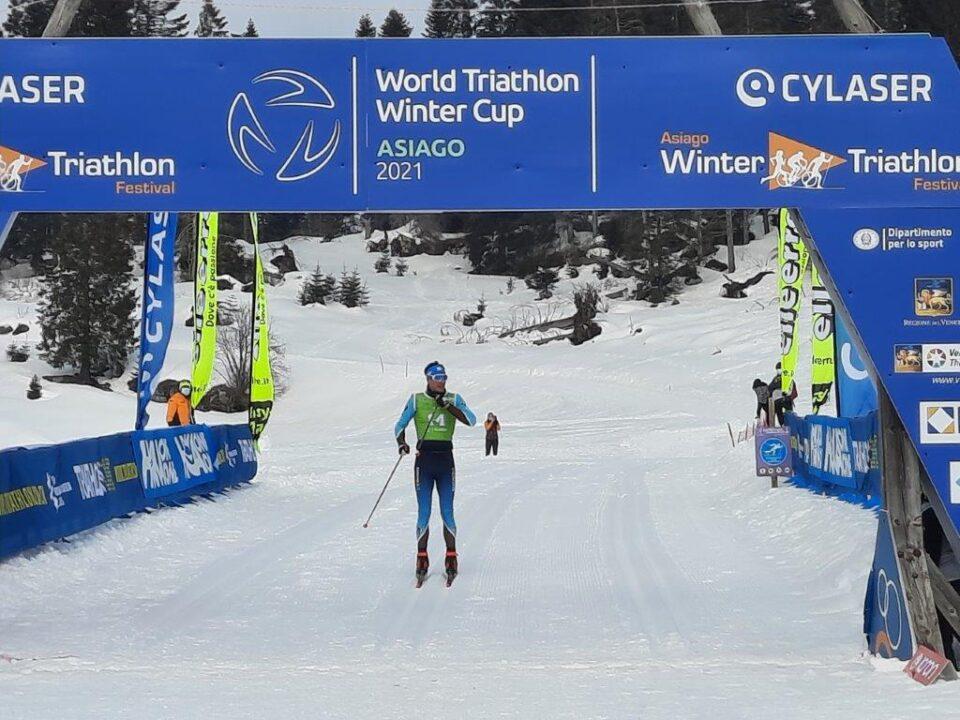 Asiago winter Triathlon festival cup 2021 Pesavento