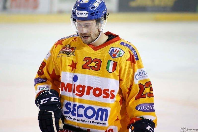 Stefano Marchetti Asiago Hockey
