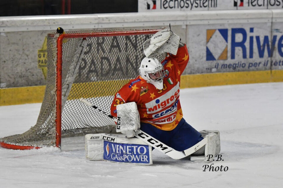MIGROSS ASIAGO PORTIERE IN AHL 2021