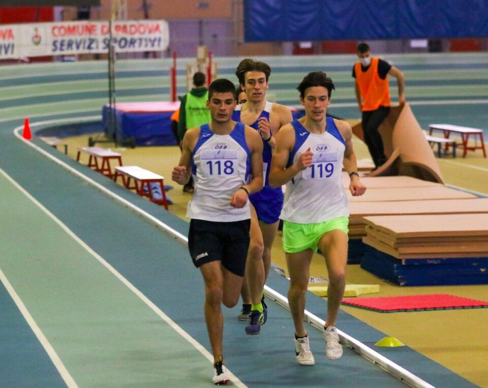 Alessandro Arrius n 118 a Padova indoor eptathlon