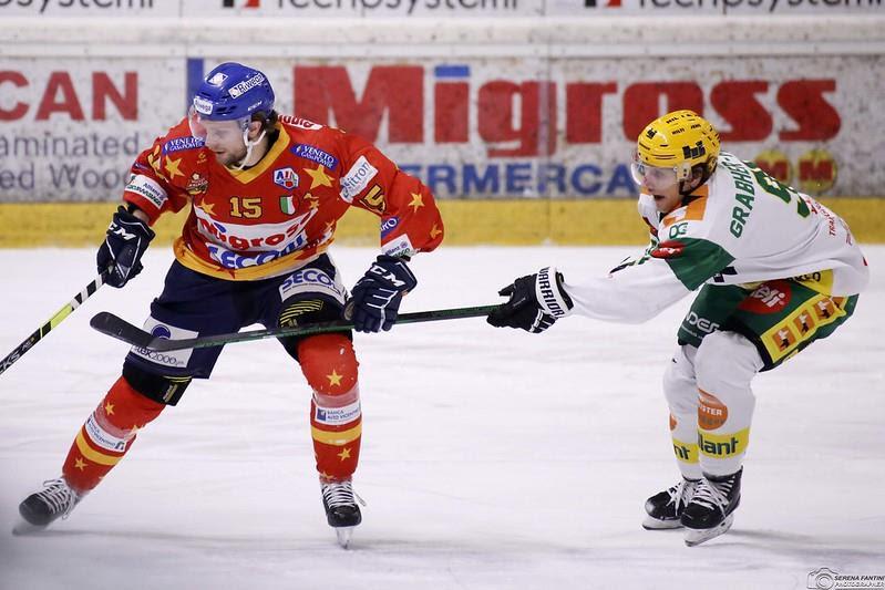 Asiago hockey battuto a Lustenau ultima reagular season 2021