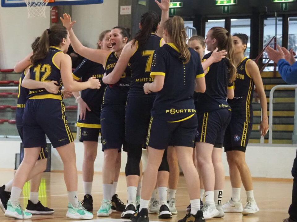 Basket Sarcedo vince il derby a Vicenza il 25 aprile 2021