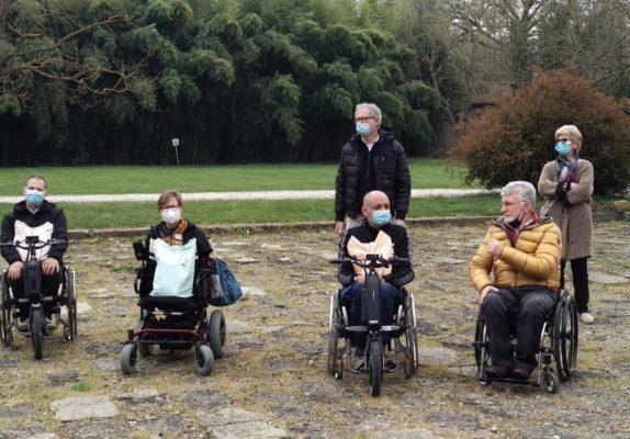 Premiazioni paralimpici trail-O a Rovolon (Padova)