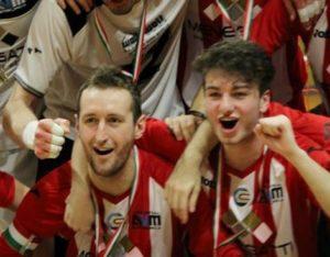 Dobrosavljevic e Zucccon dopo il titolo conquistato un anno fa