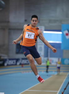 Mattia Zagotto, salto in lungo