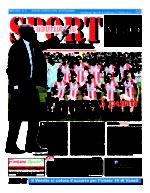 La prima pagina di SPORT in edicola venerdì 25 marzo
