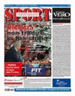 La prima pagina di SPORT in edicola venerdì 11 marzo