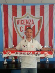 Il nuovo acquisto del Vicenza C5, Andrea Franceschini