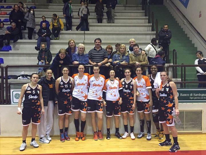 Basket femminile, vittoria per il Famla Schio a Cagliari