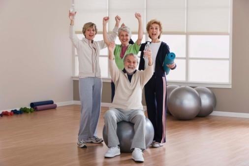 Anziani ginnastica