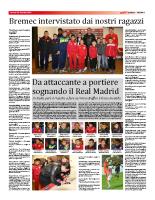 Trofeo Andrea e Stefano: l'intervista a Nicolas Bremec (23 gennaio 2015)
