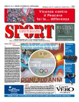 Prima Pagina Sport Quotidiano 17 ottobre 2014