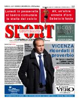 Prima Pagina Sport Quotidiano 21 novembre 2014