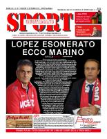 Prima Pagina Sport Quotidiano 31 ottobre 2014